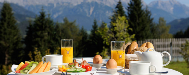 Bio-Frühstück – Breakfast